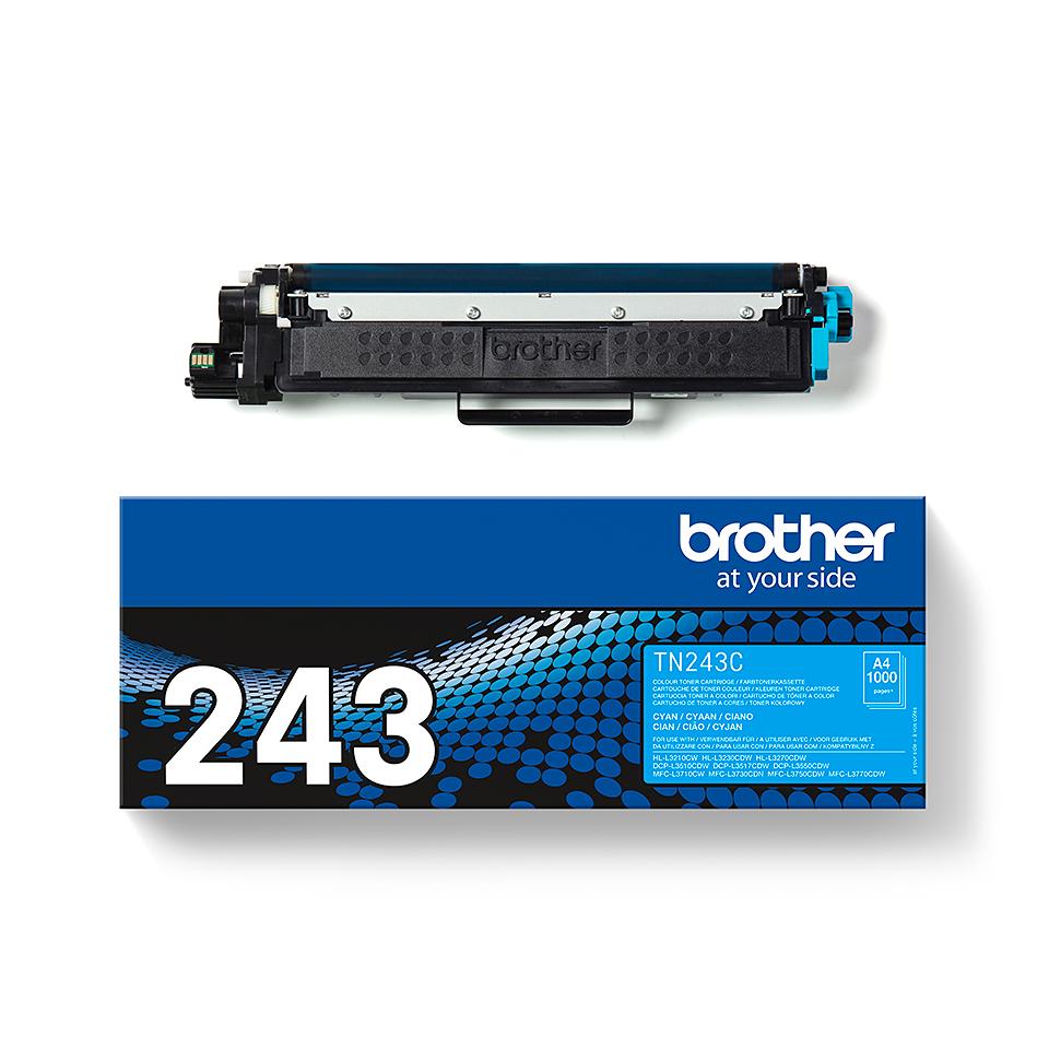 Brother TN-243C Toner originale - Ciano 3