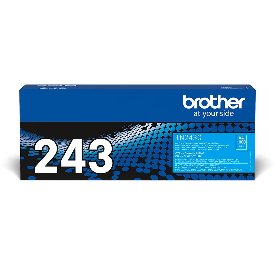 Brother TN-243C Toner originale - Ciano