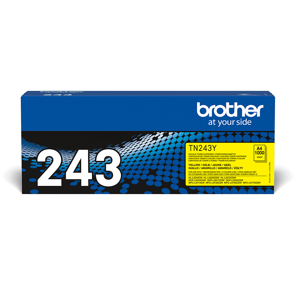 Brother TN-243Y Toner originale - Giallo 2