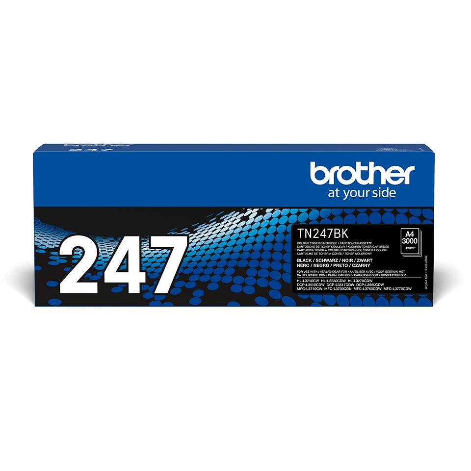 Brother TN-247BK Toner originale ad alta capacità - Nero