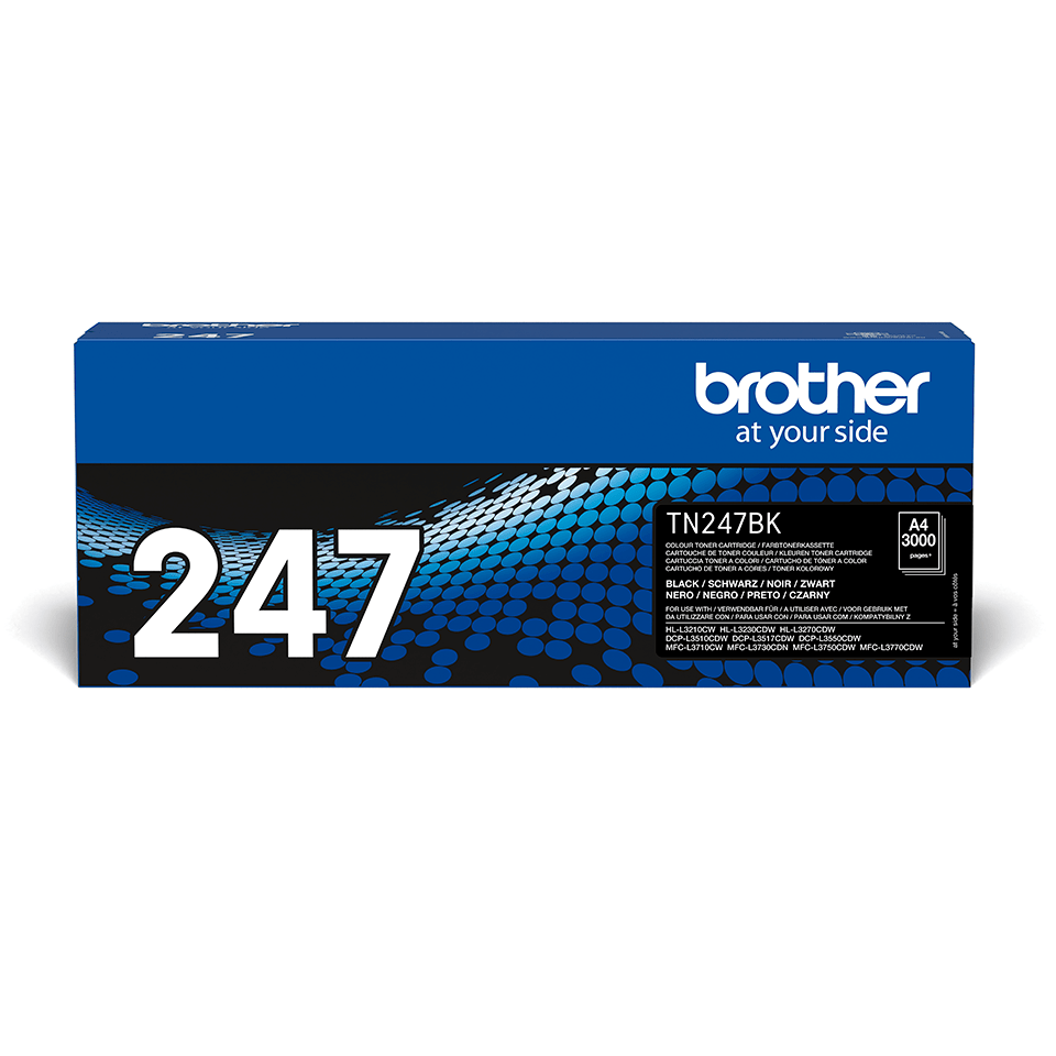 Brother TN-247BK Toner originale ad alta capacità - Nero