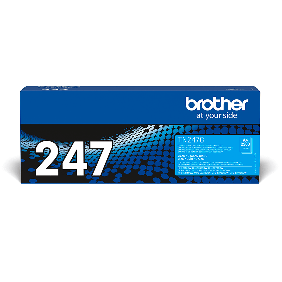 Brother TN-247C Toner originale ad alta capacità - Ciano
