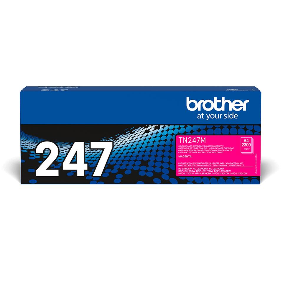 Brother TN-247M Toner originale ad alta capacità - Magenta 2