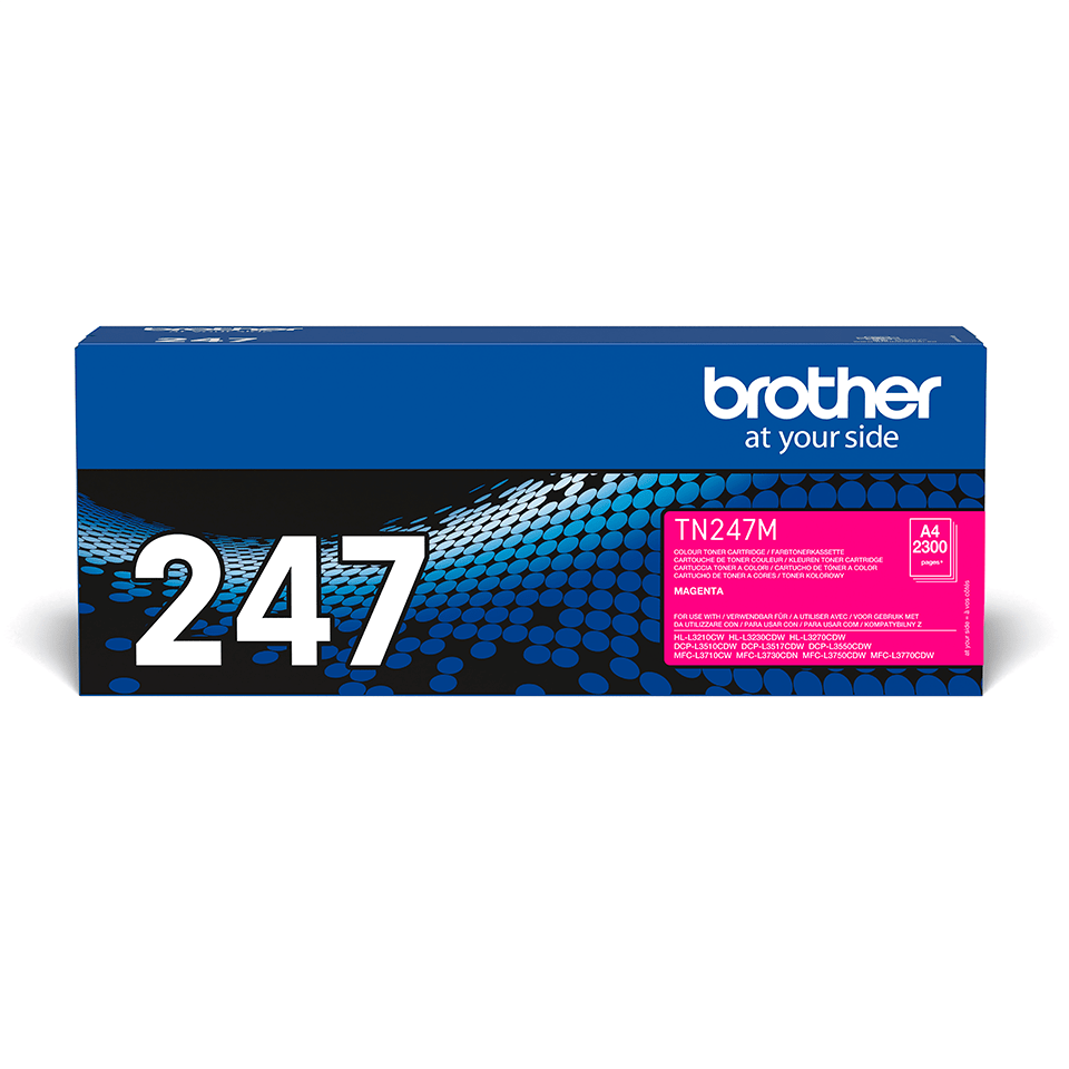 Brother TN-247M Toner originale ad alta capacità - Magenta 2