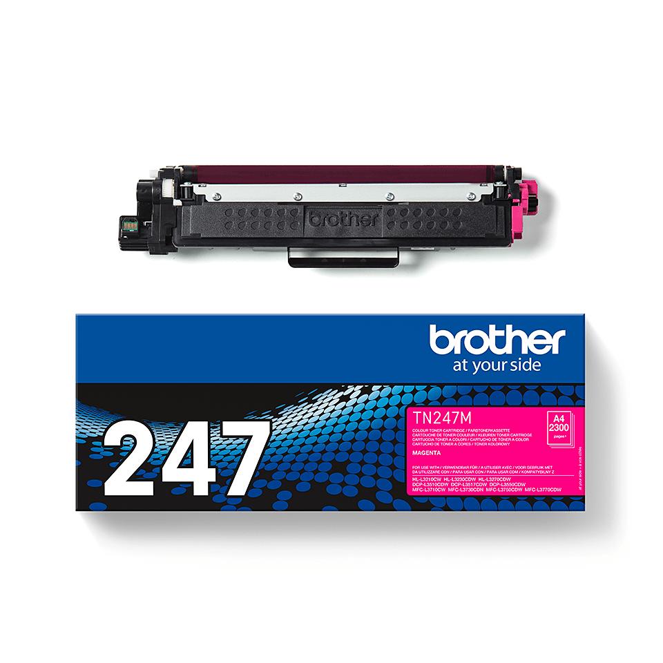 Brother TN-247M Toner originale ad alta capacità - Magenta 3