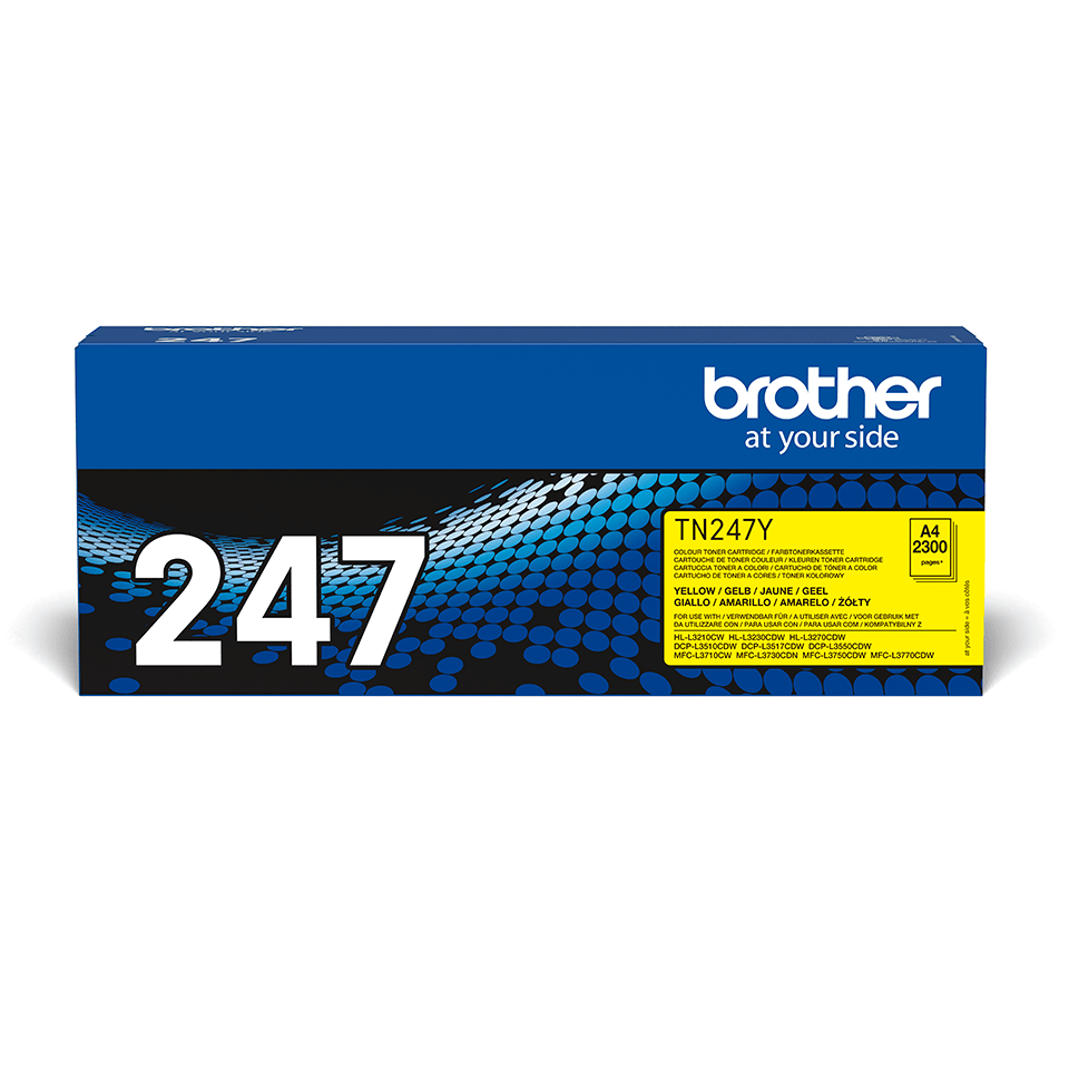Brother TN-247Y Toner originale ad alta capacità - Giallo