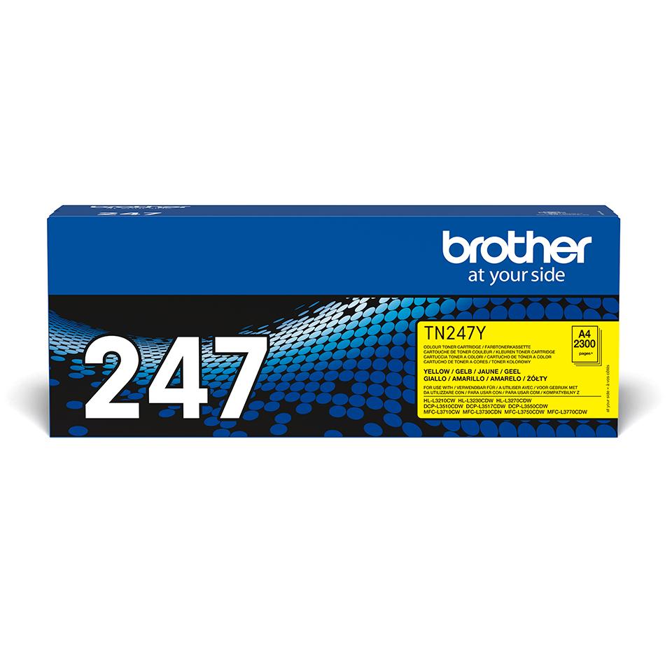 Brother TN-247Y Toner originale ad alta capacità - Giallo 2