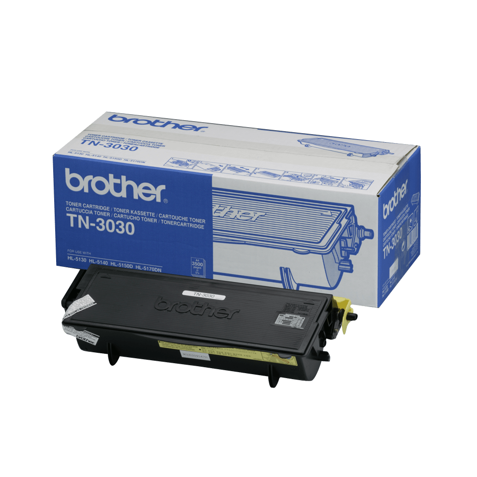 Cartuccia di toner ad alto rendimento originale Brother TN-3030 – Nero