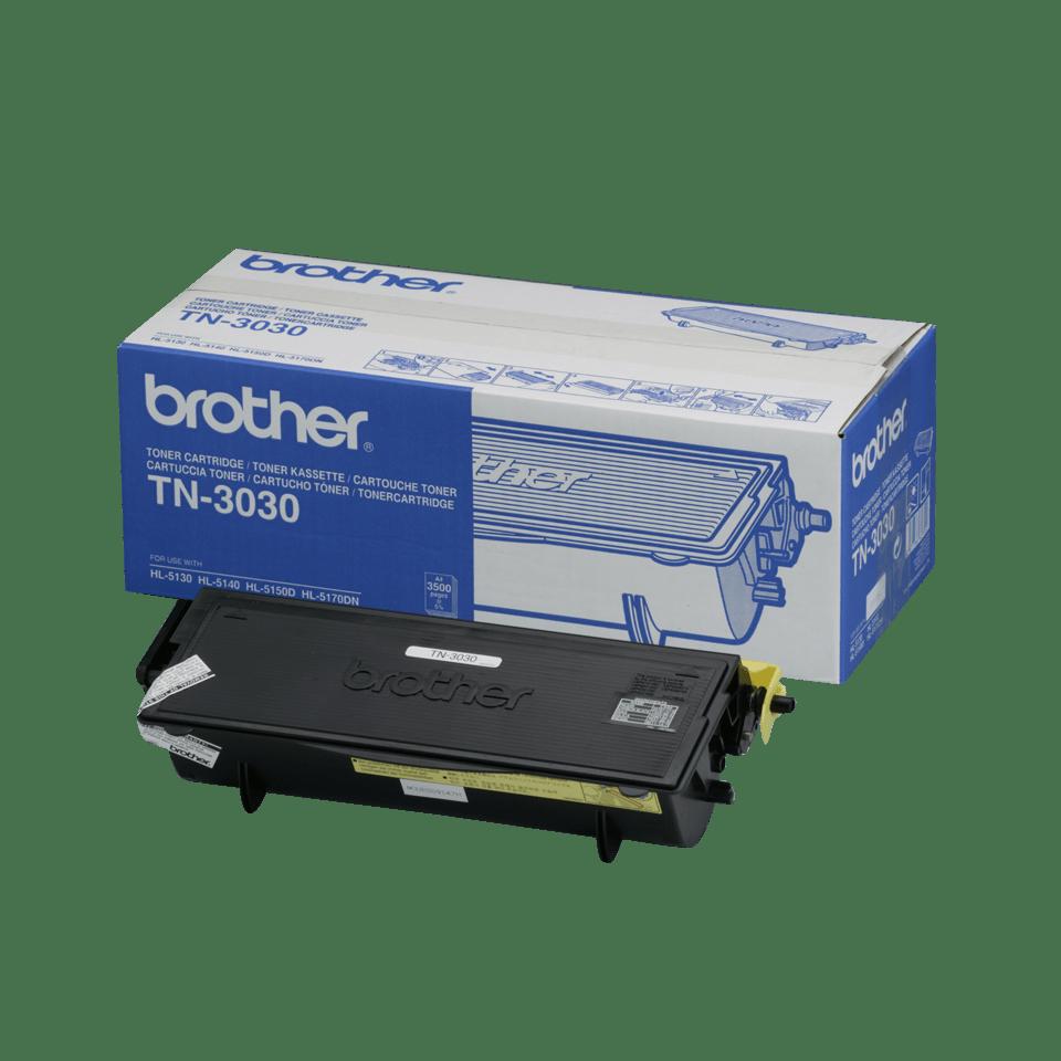 Cartuccia di toner ad alto rendimento originale Brother TN-3030 – Nero
