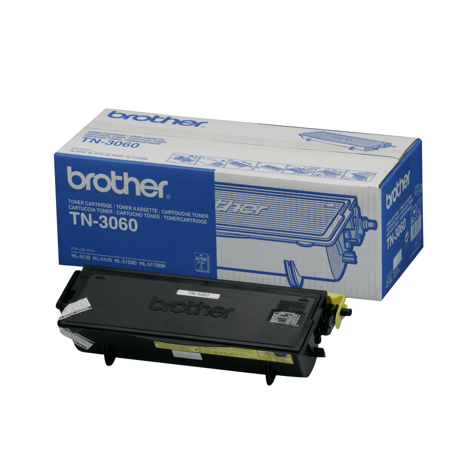 Cartuccia di toner ad alto rendimento originale Brother TN-3060 – Nero