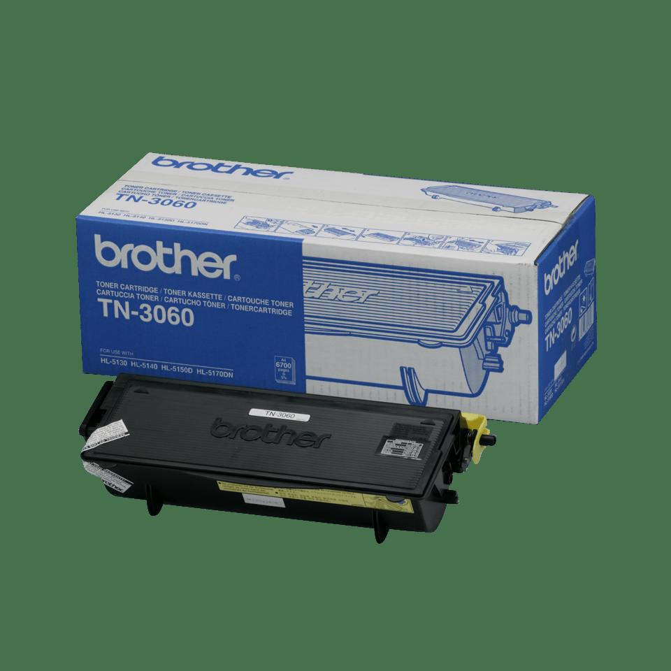 Cartuccia di toner ad alto rendimento originale Brother TN-3060 – Nero
