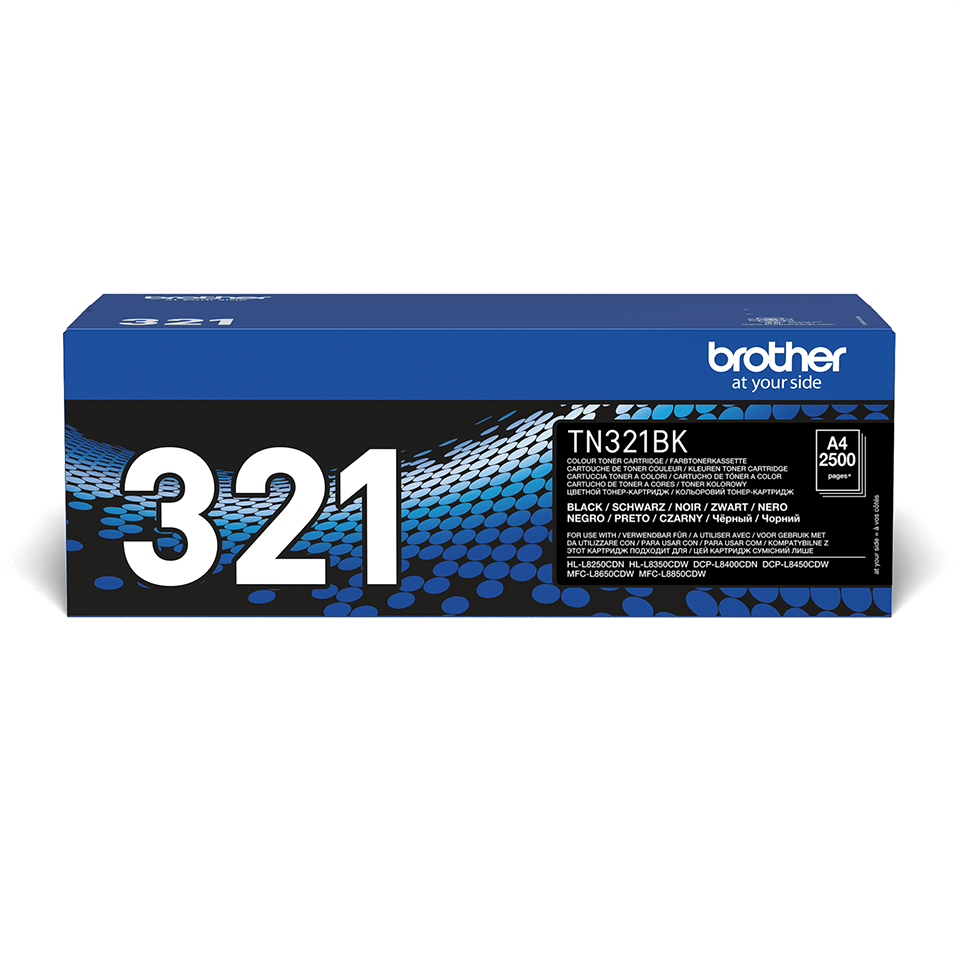 Brother TN-321BK Toner originale - nero