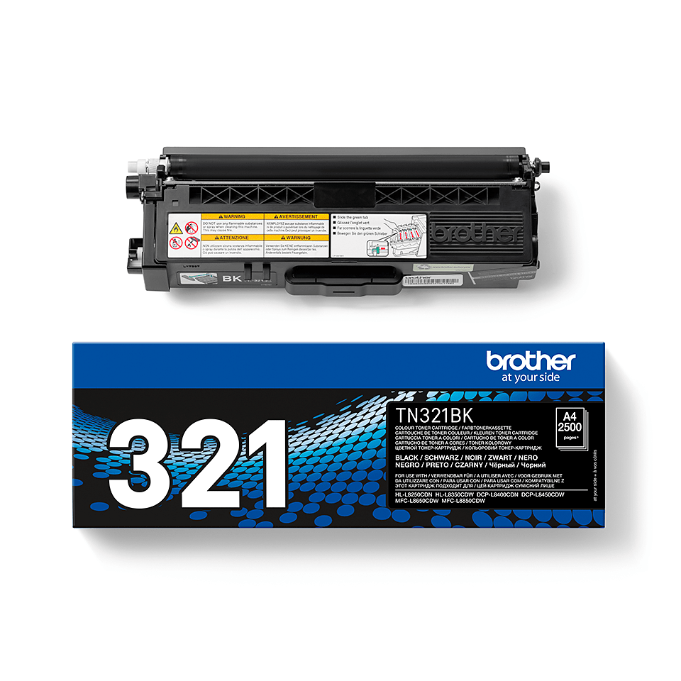 Brother TN-321BK Toner originale - nero 2
