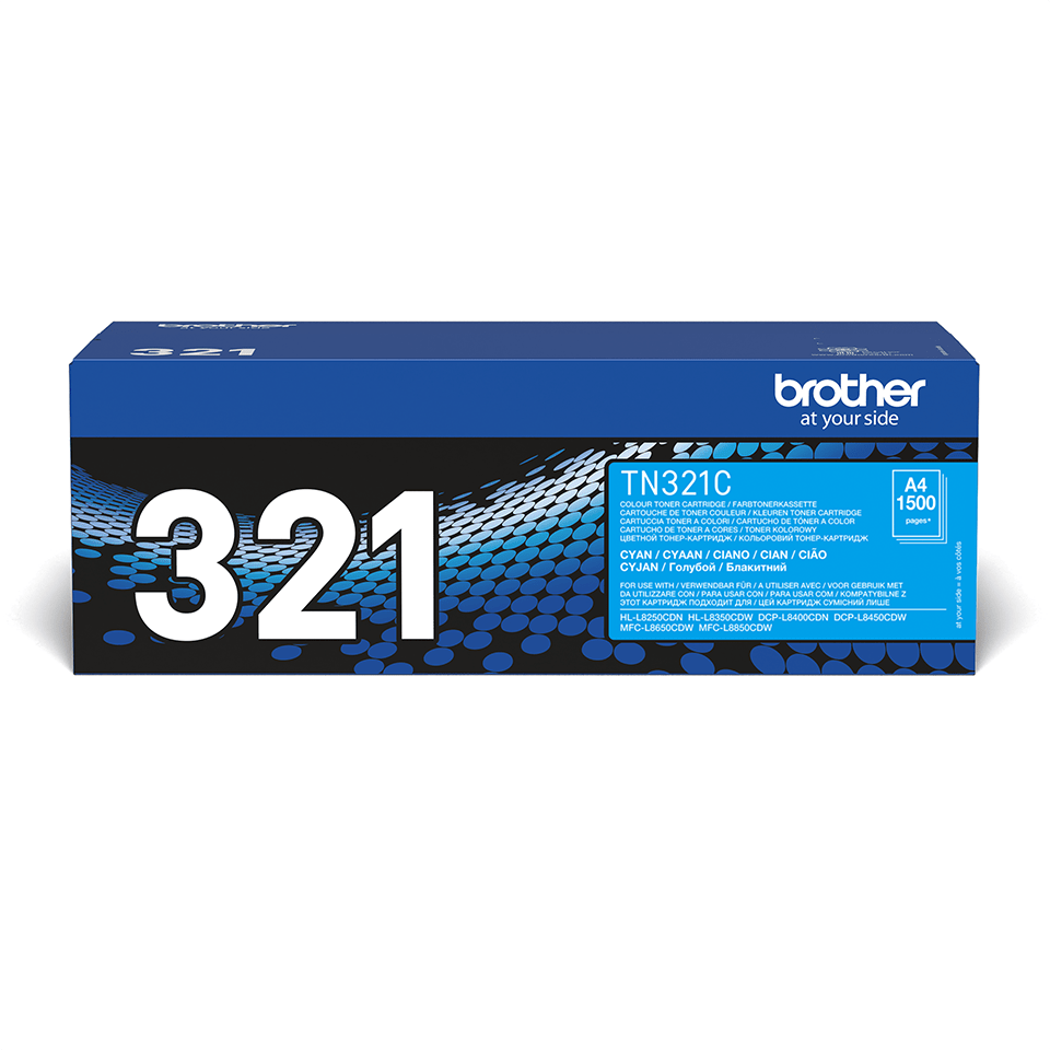 Brother TN-321C Toner originale - ciano
