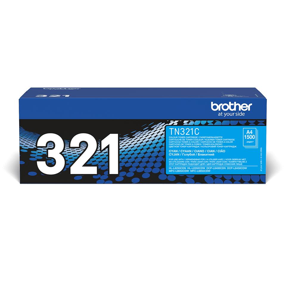 Brother TN-321C Toner originale - ciano 1