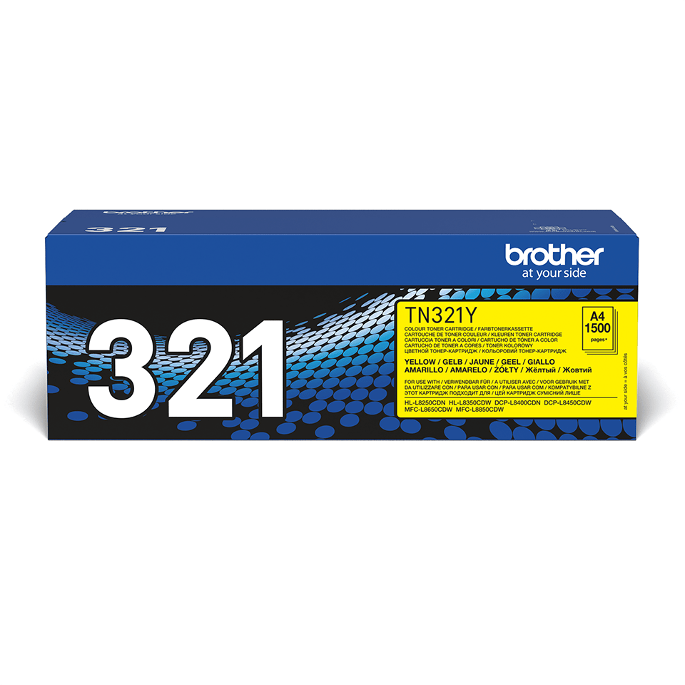 Brother TN-321Y Toner originale - giallo