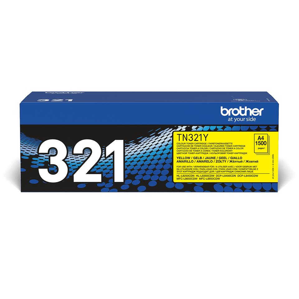 Brother TN-321Y Toner originale - giallo
