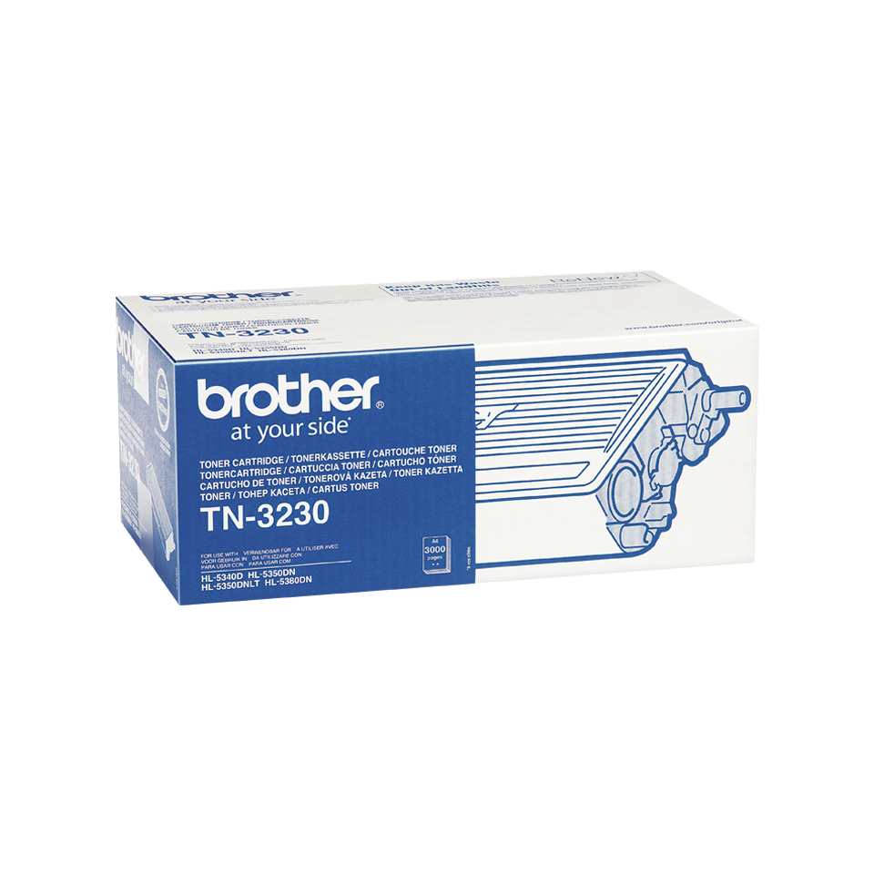 Brother TN-3230 Toner originale - nero 2