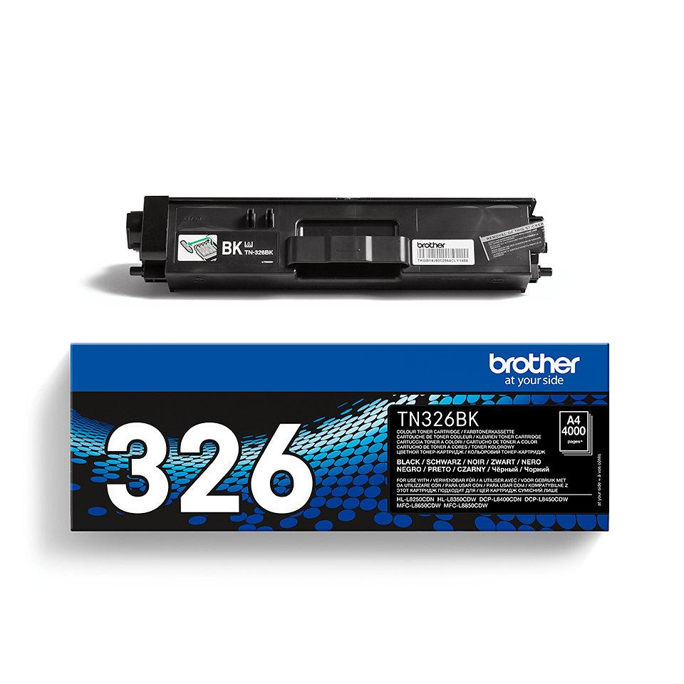 Brother TN-326BK Toner originale ad alta capacità - nero 2