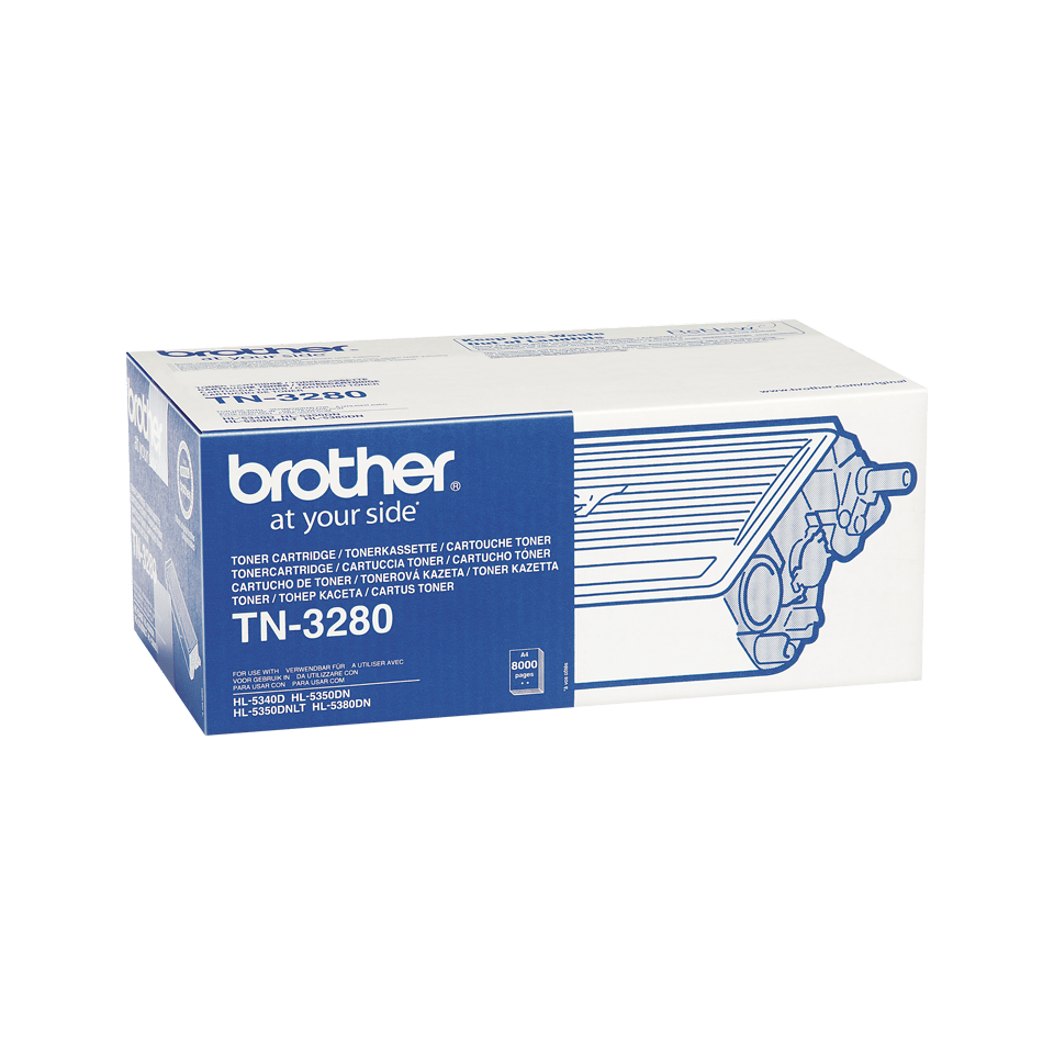 Cartuccia di toner ad alto rendimento originale Brother TN-3280 – Nero 2