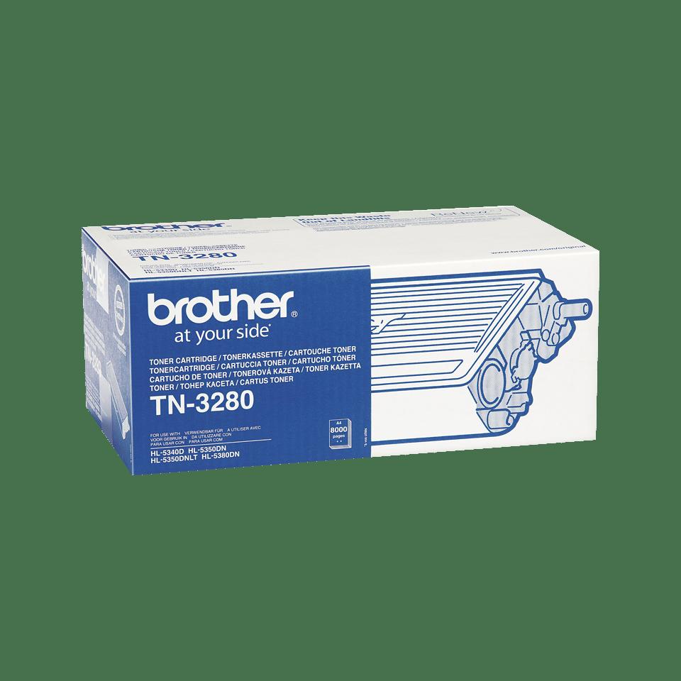 Cartuccia di toner ad alto rendimento originale Brother TN-3280 – Nero 1