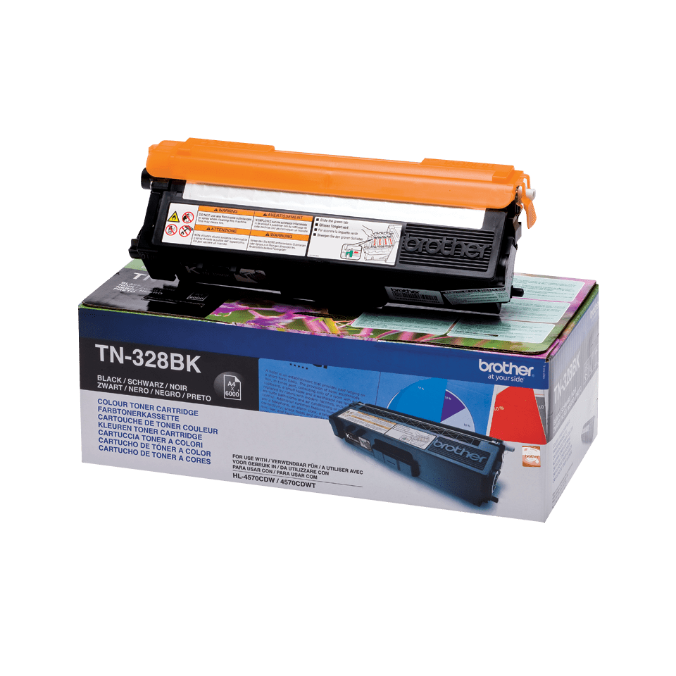 Cartuccia di toner originale Brother TN-328BK – Nero
