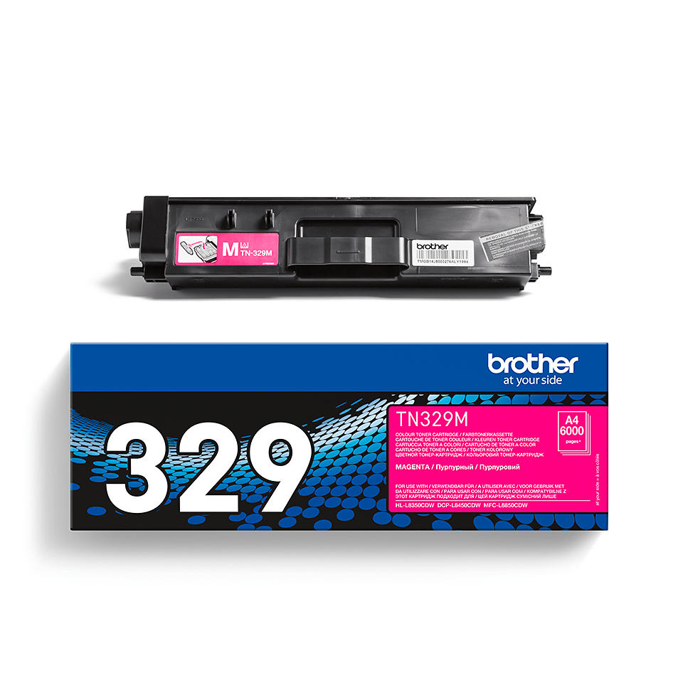 Cartuccia di toner originale Brother TN-329M – Magenta 2