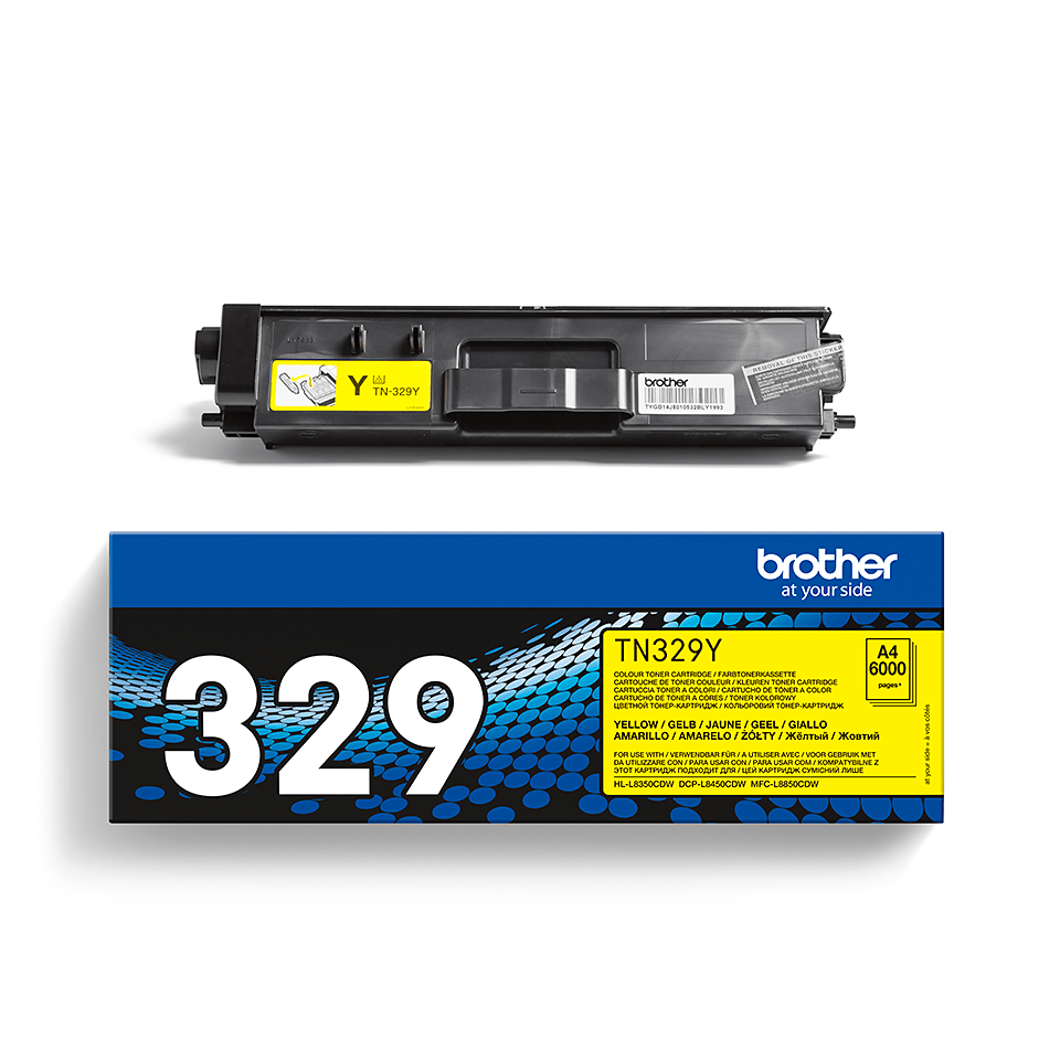 Brother TN-329Y Toner originale - giallo 2