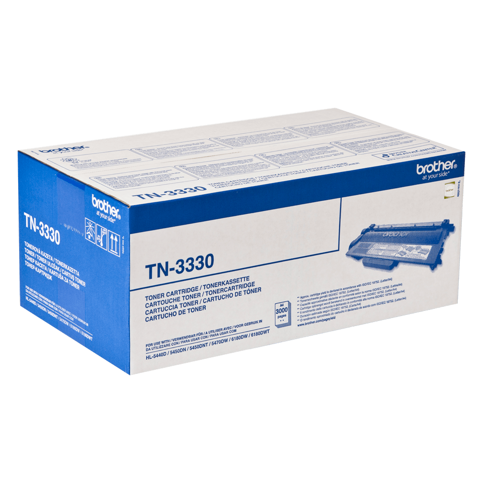 Brother TN-3330 Toner originale - nero