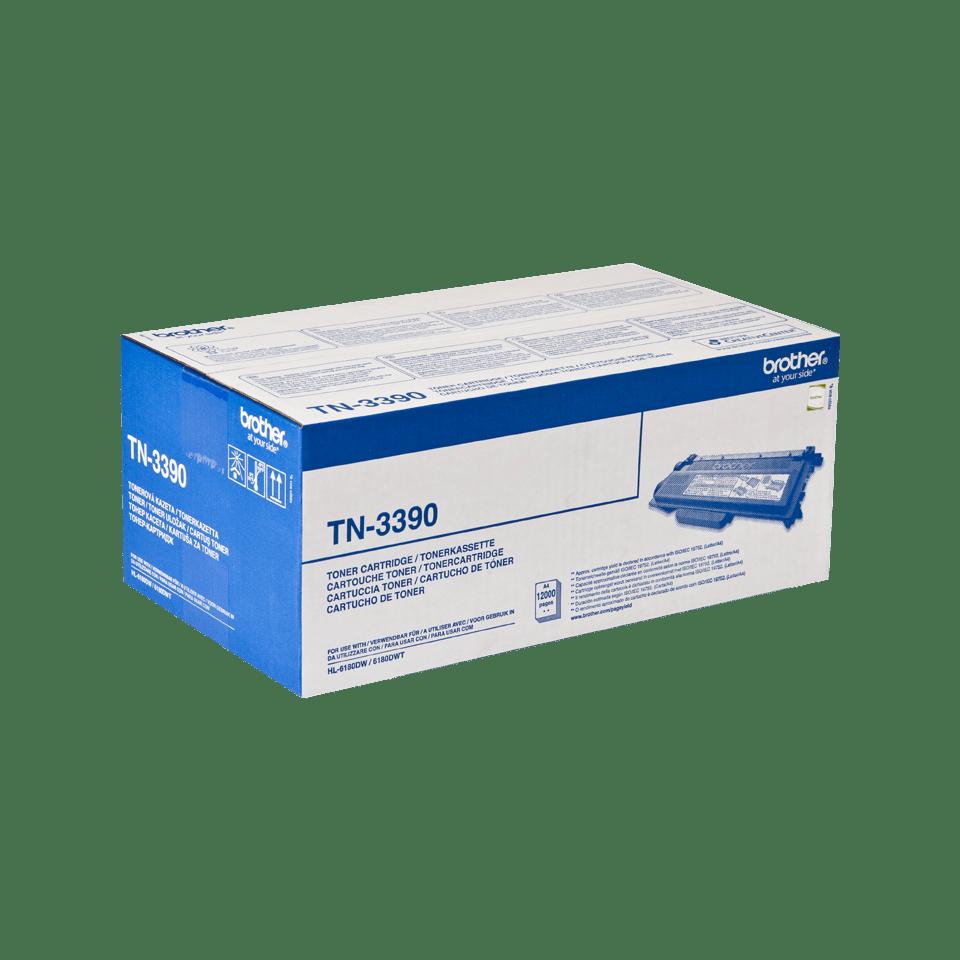 Cartuccia di toner ad alto rendimento originale Brother TN-3390 – Nero 2