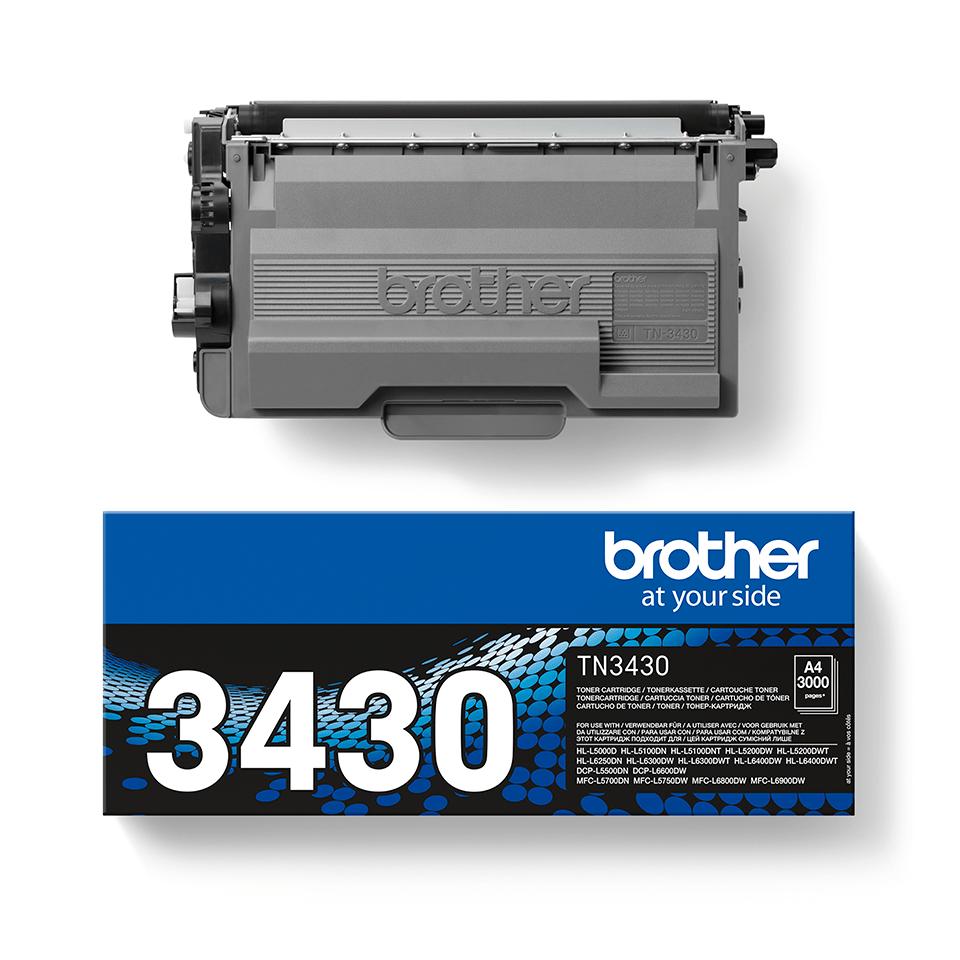 Brother TN-3430 Toner standard - nero 2
