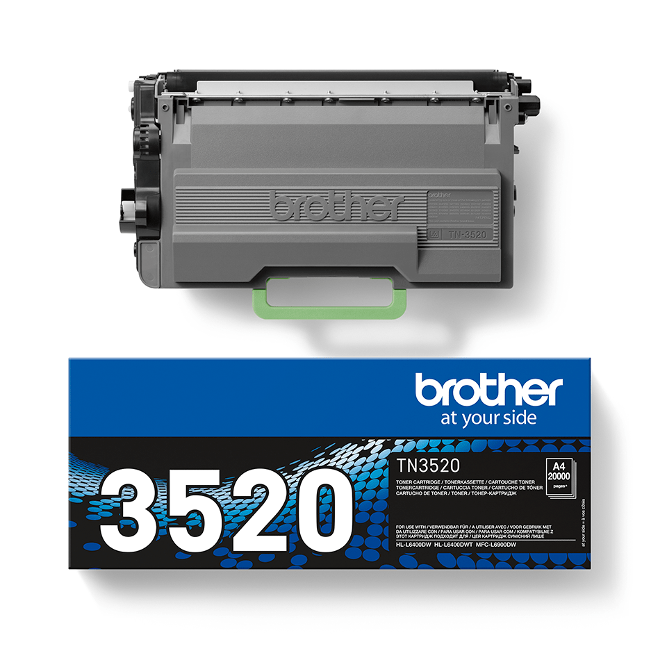 Cartuccia di toner ad altissimo rendimento originale Brother TN-3520 – Nero 2