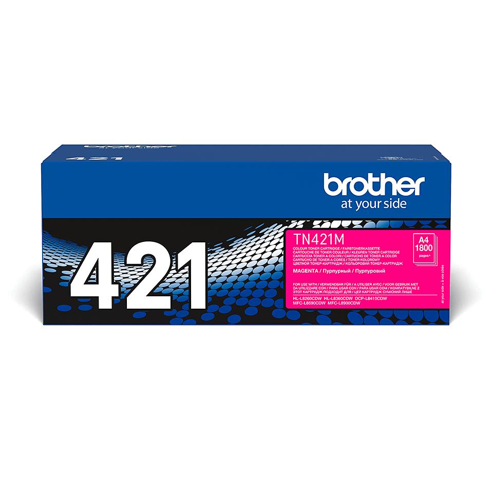 Brother TN-421M Toner originale magenta 2