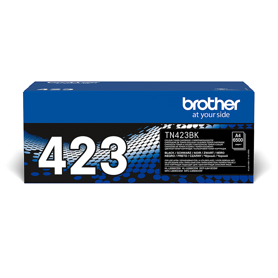 Brother TN-423BK Toner Originale - Nero
