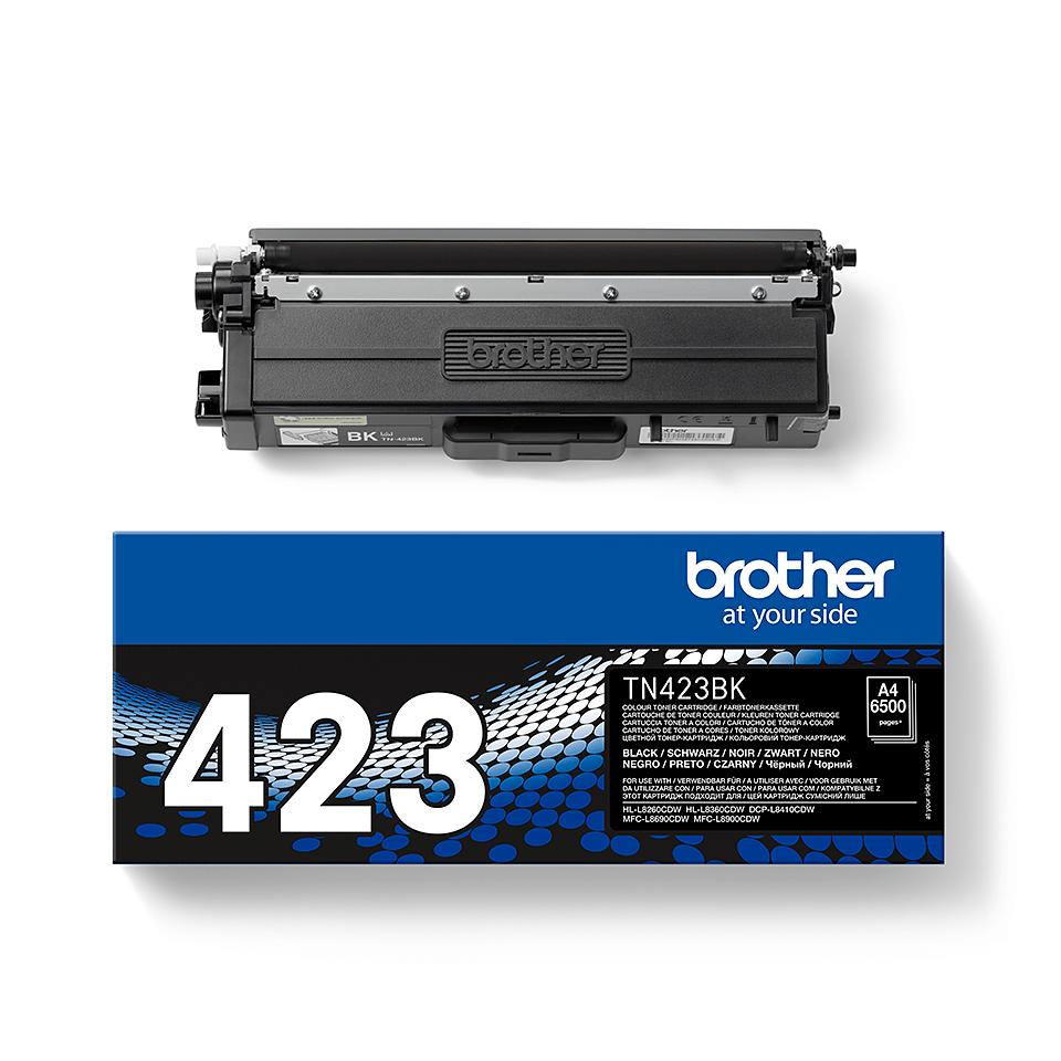 Brother TN-423BK Toner Originale - Nero 2