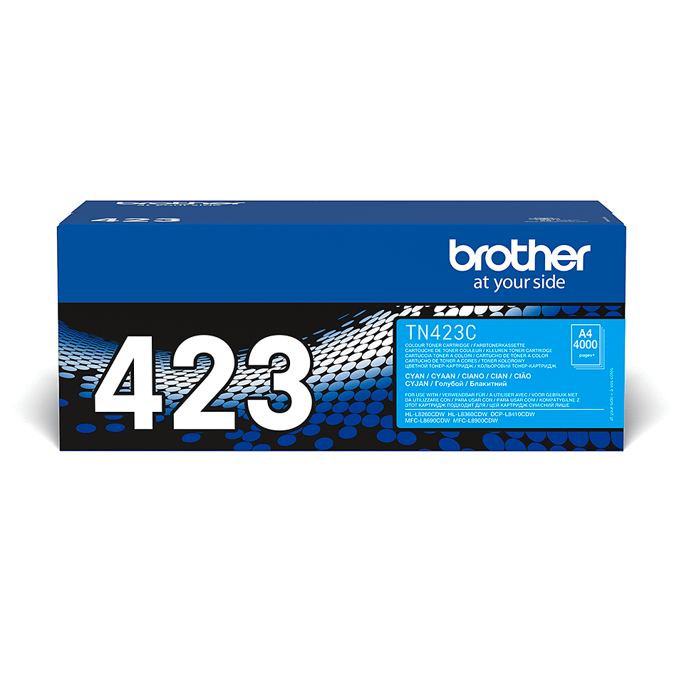 Brother TN-423C Toner originale - Ciano