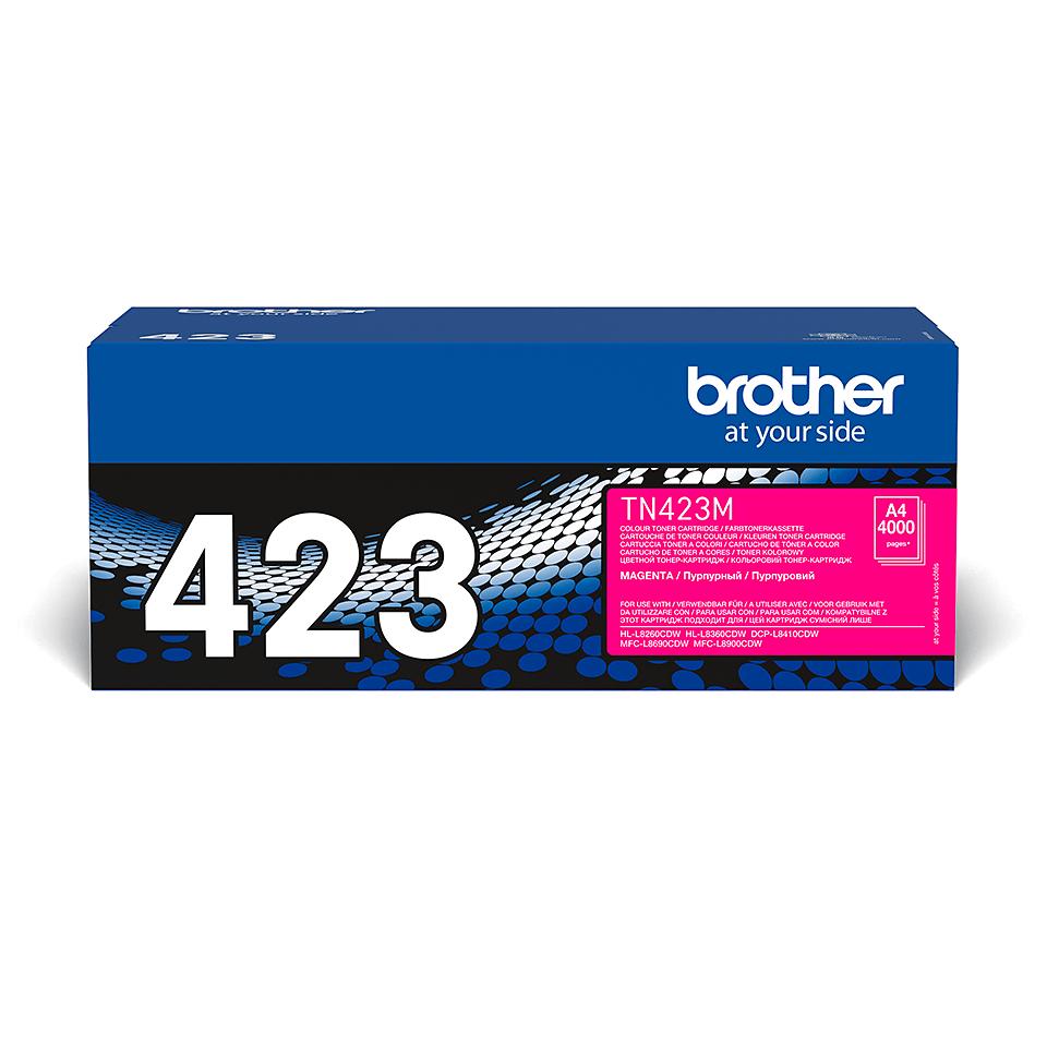 Brother TN-423M Toner originale – Magenta