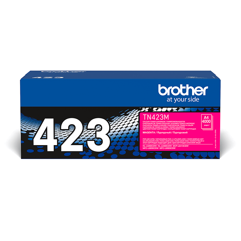 Brother TN-423M Toner originale – Magenta