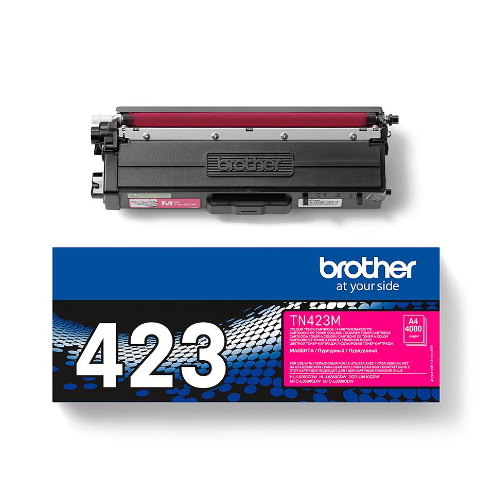 Brother TN-423M Toner originale - magenta 1