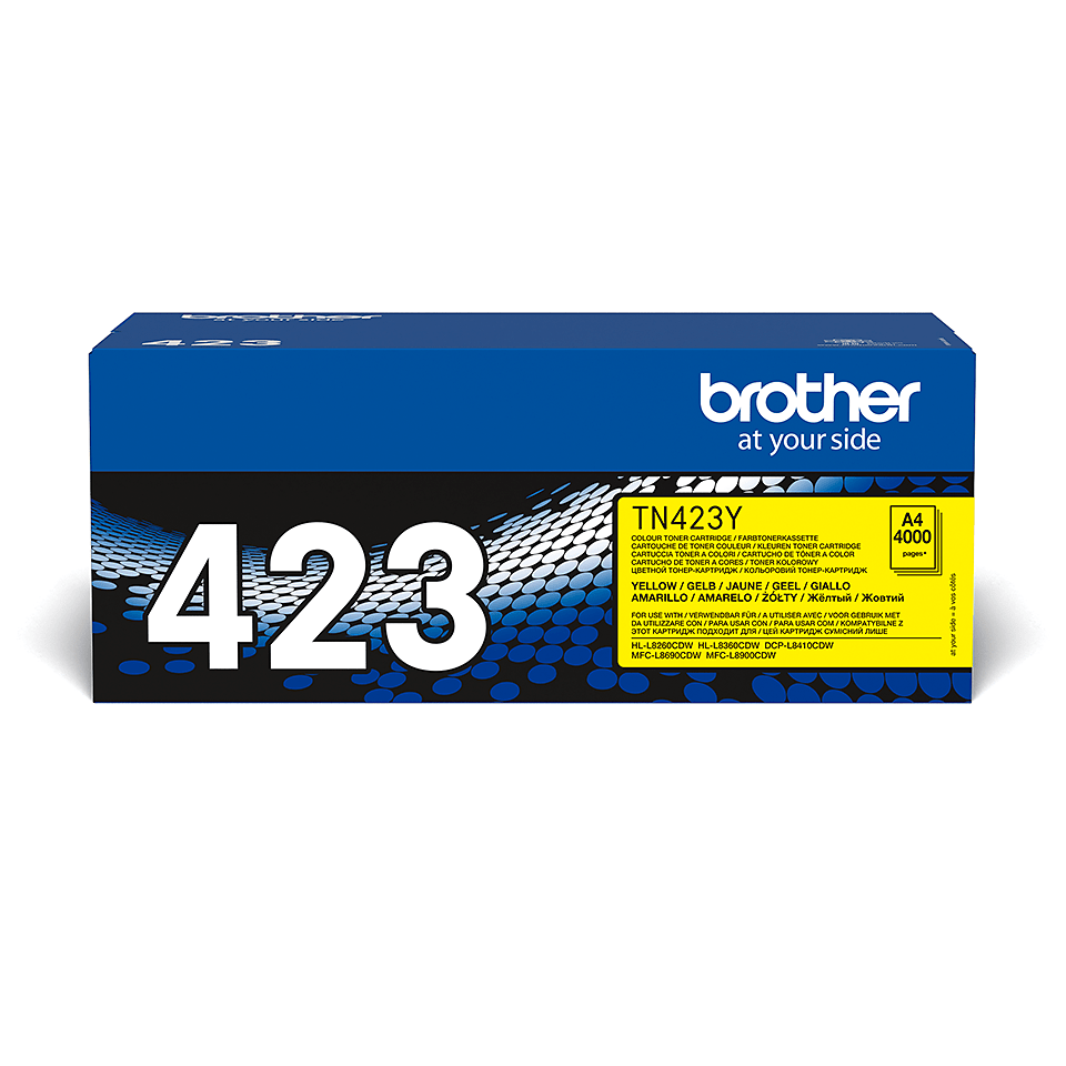 Brother TN-423Y Toner originale - Giallo