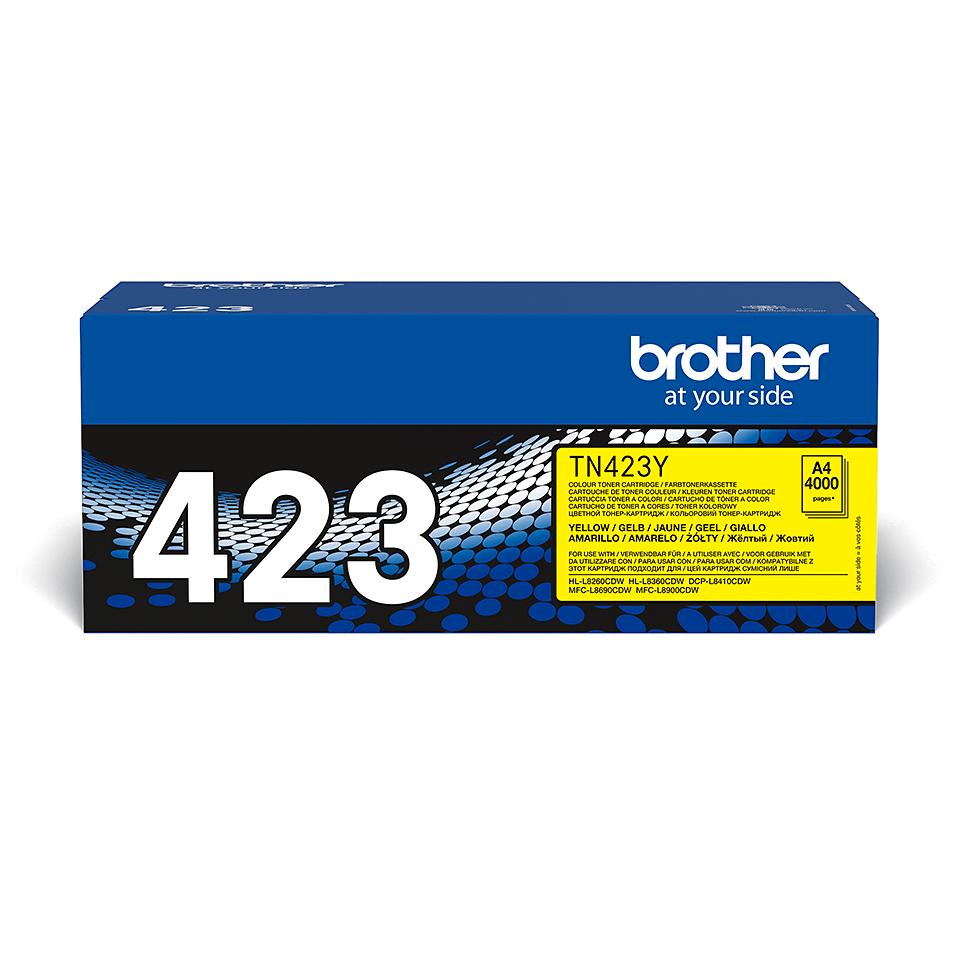 Brother TN-423Y Toner originale - giallo