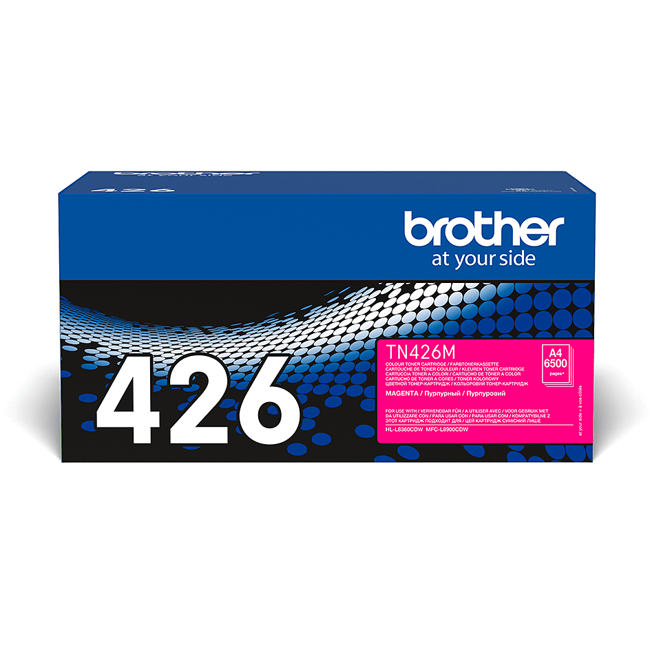 Brother TN-426M  – Magenta 2