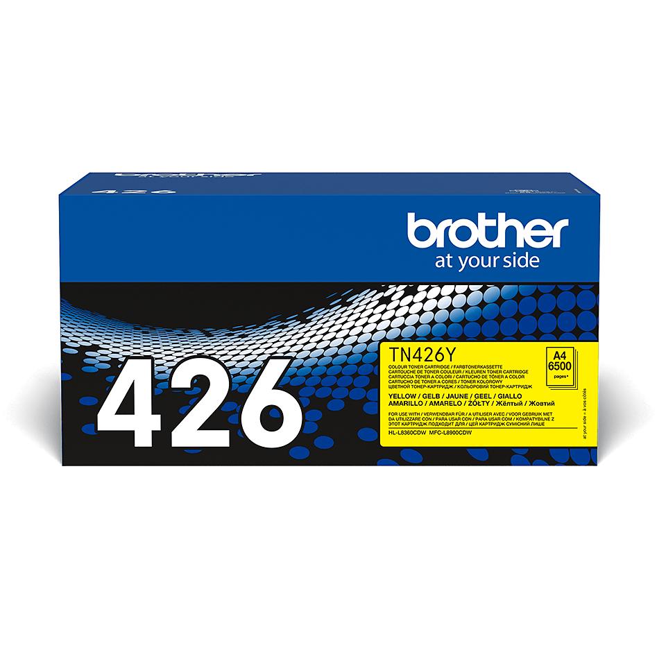 Brother TN-426Y Toner originale - Giallo 2