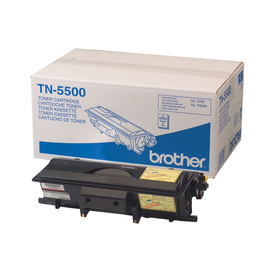 Brother TN-5500 Toner ad alta capacità originale – Nero