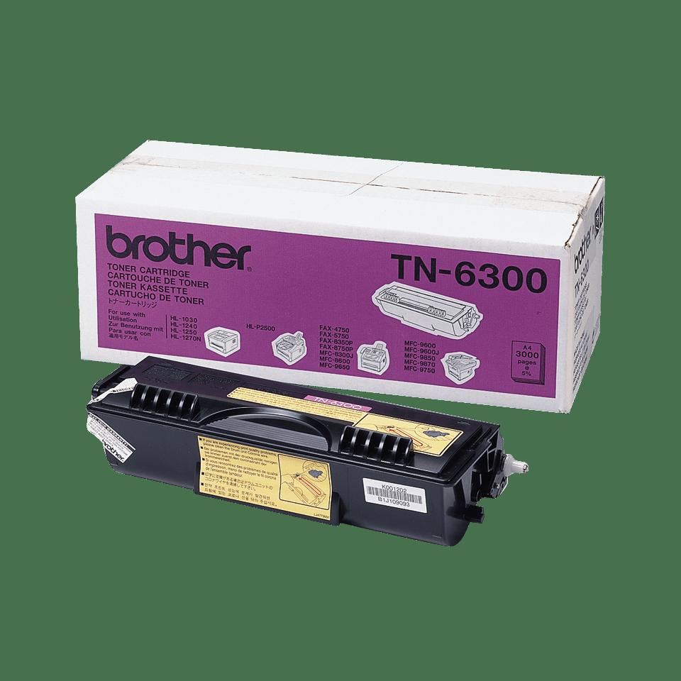 Brother TN-6300 Toner ad alta capacità originale  – Nero