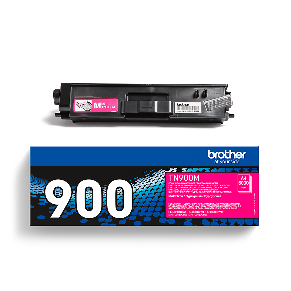 Cartuccia di toner originale Brother TN-900M – Magenta 2