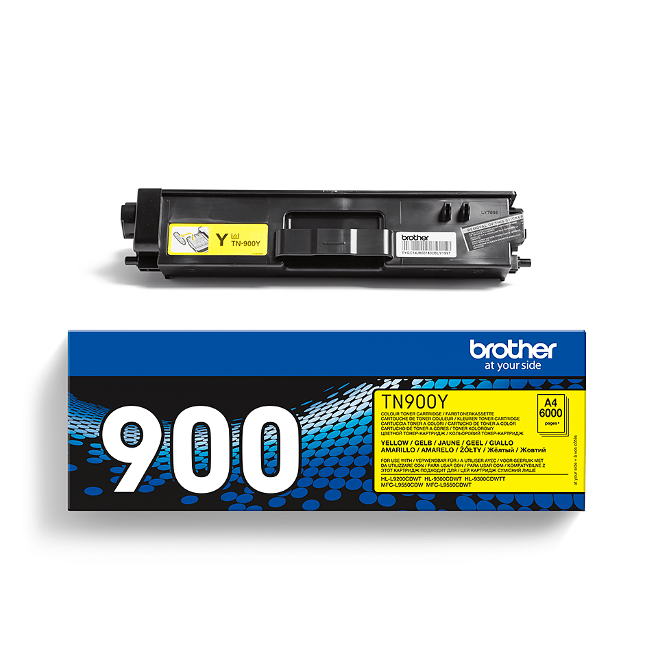 Cartuccia di toner originale Brother TN-900Y – Giallo 2