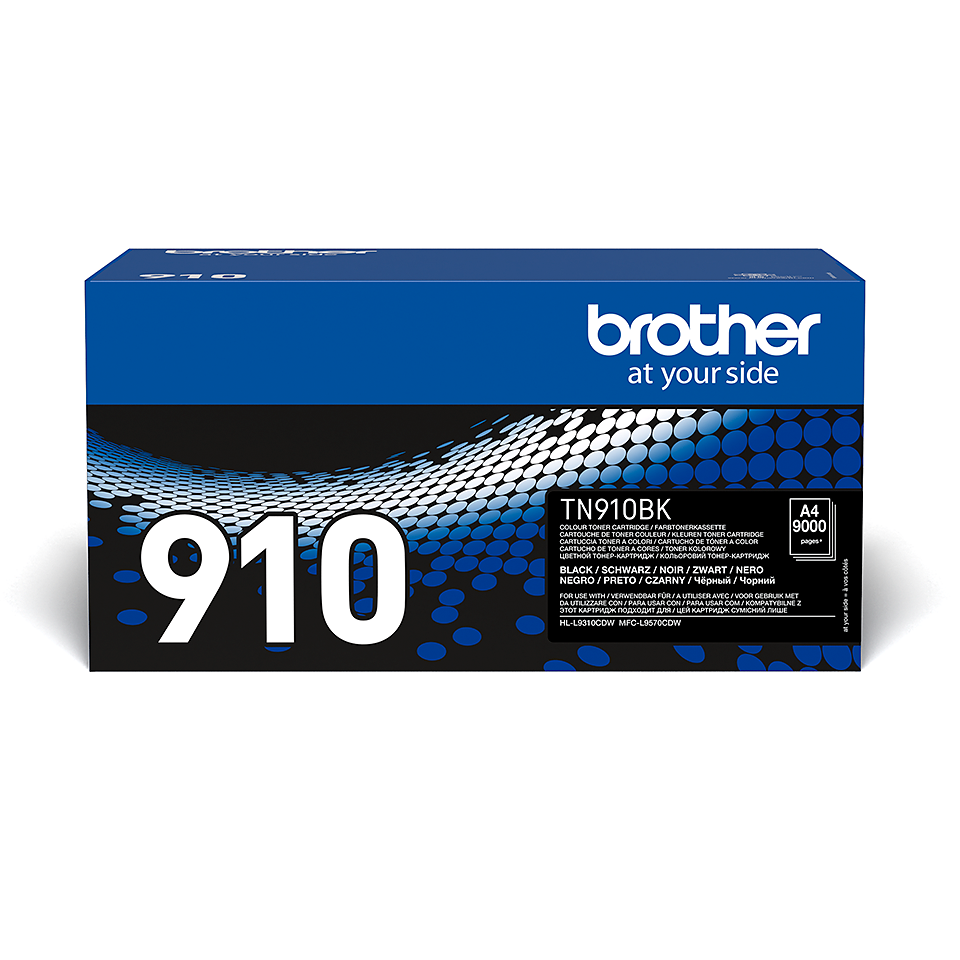 Brother TN-910BK Toner originale – Nero