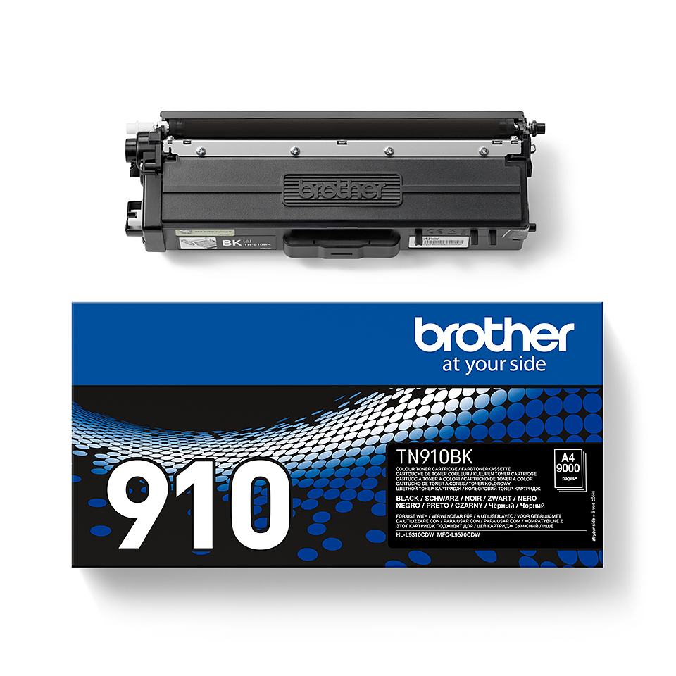 Brother TN-910BK Toner originale – Nero 2