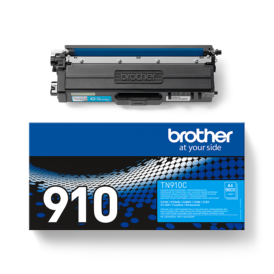 Brother TN-910C Toner originale – Ciano 2